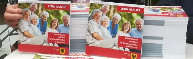 Neuer Ratgeber für SeniorInnen in Dortmund mit vielen Informationen für eine aktive Lebensgestaltung im Alter