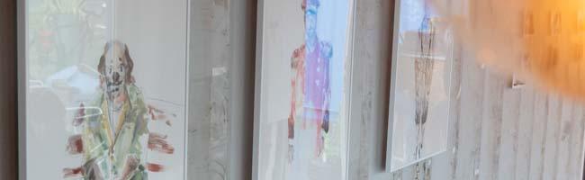 """""""Pictures 'n Pintxos"""" am Umschlagplatz: Noch bis Sonntag sind Zeichnungen und Malereien von Viktor Sternemann zu sehen"""