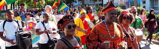 FOTOSTRECKE Afro-Ruhr-Festival in Dortmund: Eine Feier der Kulturen und des Miteinanders in der Nordstadt