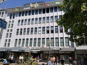 Das Fellows Hotel in der Innenstadt