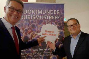 Dortmund Tourismustreff 2018 Matthias Rothermund und Thomas Westphal. Fotos: Gerd Wüsthoff