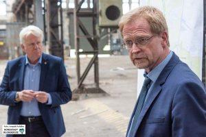 Wollen die IGA nach Dortmund holen: Oberbürgermeister Ullrich Sierau und Planungsdezernent Ludger Wilde.