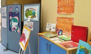 Kooperationshandschrift mit dem Museum Ostwall, von Kita-Kindern übersetzt