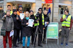 Die Grünen kritisieren die Videobeobachtung im Brückstraßenviertel. Foto:Partei
