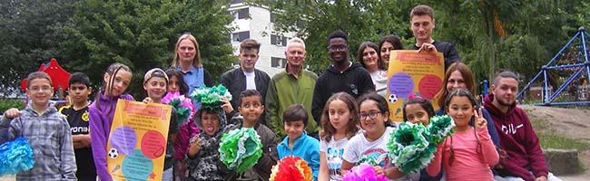 Viertes internationales Kinderfest bietet wieder buntes Programm von Kindern für Kinder im Kezz in der Nordstadt
