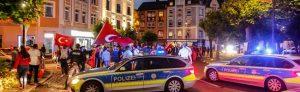 Nach dem Sieg von Erdogan feierten Türken ausgiebig. Sogar der Borsigplatz musste gesperrt werden.