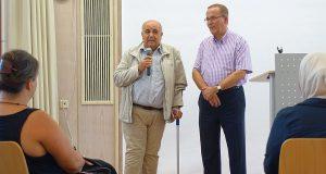 Dr. Omar Al-Ghawi, Vorstand der Palästinensischen Gemeinde zu Dortmund und aus dem Leitungsteam des Länderkreises