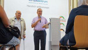 Klaus Wegener, Vorstand der Auslandsgesellschaft NRW
