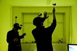 """Eröffnung der Konferenz für Digitalität und Theater """"Enjoy Complexity"""" im Februar 2018 - Auftakt zur Akademiegründung. Foto: Edi Szekely"""