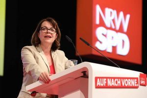 Nadja Lüders wurde Ende Juni als neuen Generalsekretärin der NRW-SPD gewählt.