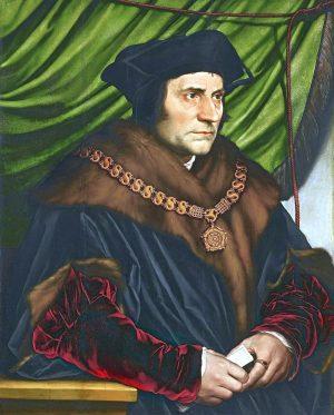 Thomas Morus als Lordkanzler - Hans Holbein der Juengere 1527. Foto: Wikipedia