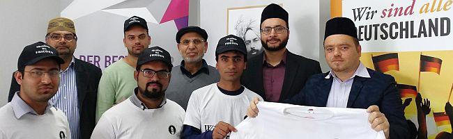 """""""Wir sind alle Deutschland"""" – Älteste muslimische Gemeinde startet Kampagne gegen Terror, verübt im Namen des Islam"""