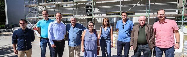 Neue AWO-Kita in der Nordstadt: Der Rohbau steht und kann voraussichtlich Anfang November bezogen werden