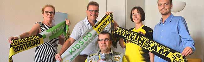 Teamspiel – Engagierter Borusse sammelt in abgelaufener Saison bei Heimspielen 1.500 Euro für Kinderkrebsstation