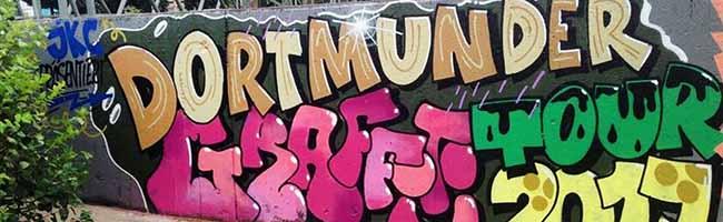 An die Dosen – fertig – los: Dortmunder Graffiti Tour 2018 lädt Anfang August wieder zum Sprühen mit Phantasie ein