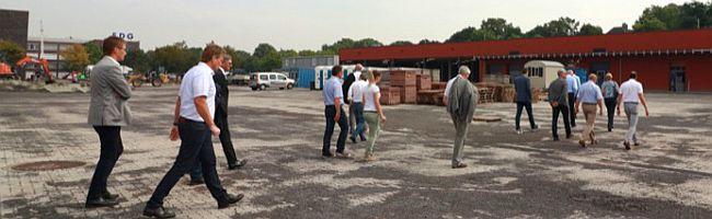 Neue Nachbarn im Hafenquartier in Dortmund: Tiefbauamt und Stadtentwässerung beziehen ein Areal am Sunderweg