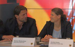 Roman Weidenfeller und Annike Krahn