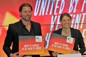 Die neuen BotschafterInnen für den Spielort Dortmund bei der EM 2024