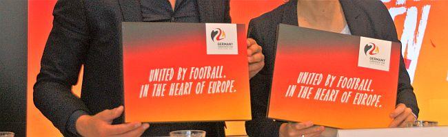 Werbung in eigener Sache: Dortmund als designierter Spielort der Fußball EM 2024 stellt seine beiden BotschafterInnen vor