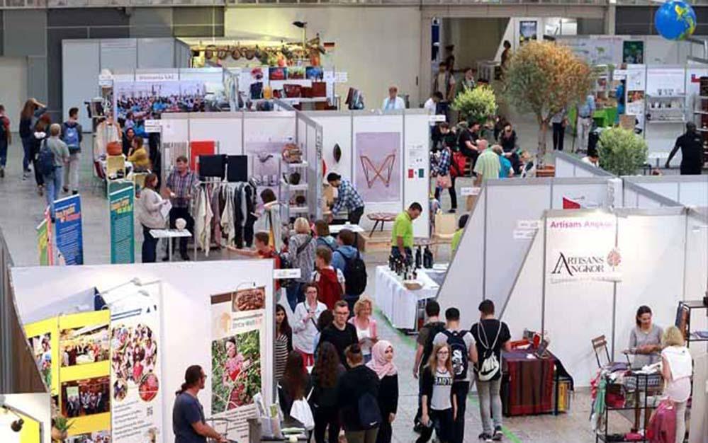 Die Fair Friends-Messe findet vom 6. bis zum 9. September in den Westfalenhalle statt. Foto: Anja Cord