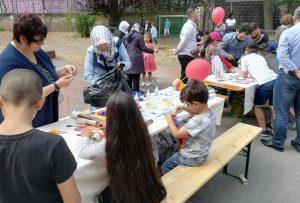 Bastel und Mal-Angebot für die Kinder