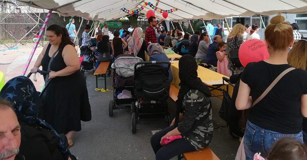 Familien-Fest für MigrantInnen der Samo.Fa im Haus der Vielfalt