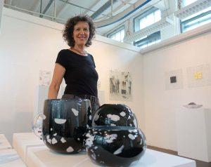 """Heide Kemper hat ihre ganz privaten Schätze für """"Heißes Glas"""" zusammengestellt."""