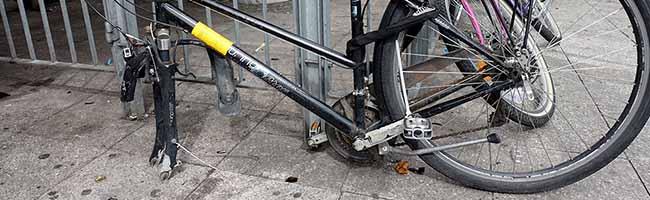 Die Stadt Dortmund geht jetzt gegen herrenlose und nicht fahrbereite Fahrräder im öffentlichen Raum vor