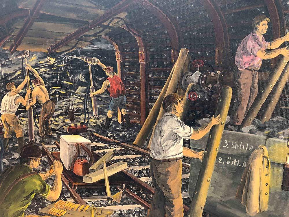"""""""Bohrdrittel"""" heißt dieses Werk von Franz Klekawka."""