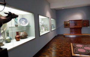 Teile von Dauerausstellungen, wie diese Jugendstil-Objekte, sind ab jetzt kostenfrei.