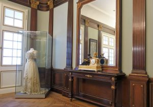 Trauzimmer im MKK. Ursprünglich stammt die Einrichtung aus Schloss Cappenberg.