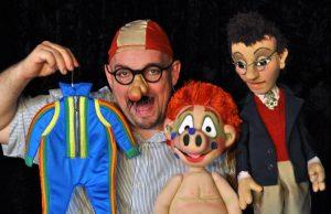 Das Sams im DEW21 Servicecenter: Ein Puppentheater-Stück für die ganze Familie von den Kammerpuppenspielen Bielefeld. Foto: Kammerpuppenspiele Bielefeld