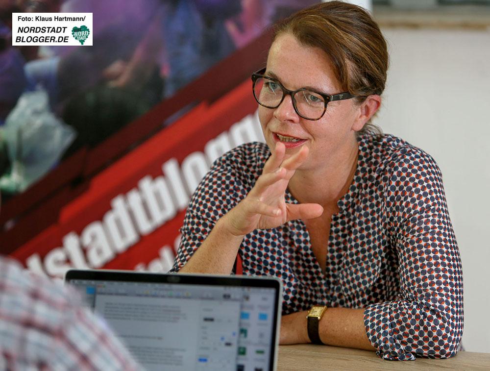 Nadja Lüders, SPD, MdL im Interview mit den Nordstadtbloggern