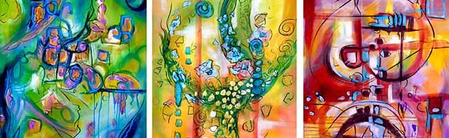 """Bei der """"Gemeinwohl""""-Ausstellung von Bettina Brökelschen können die Gäste ein Kunstwerk selber mitgestalten"""