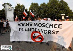 Mit Protesten gegen Moscheebauten wie in Eving will