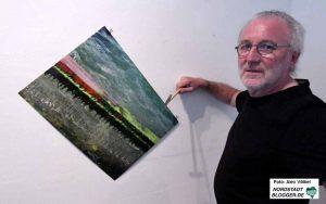 Für Hartmut Gloger war es eine schöne Zeit in der Galerie Dieter Fischer.