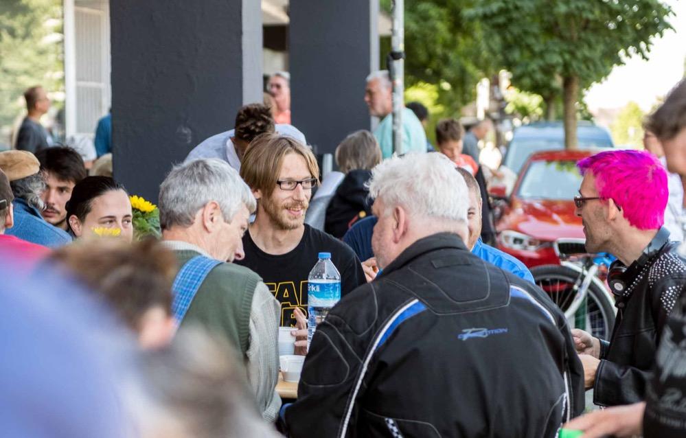 Sommerfest Gast-Haus 2018. Foto: Markus Mielek