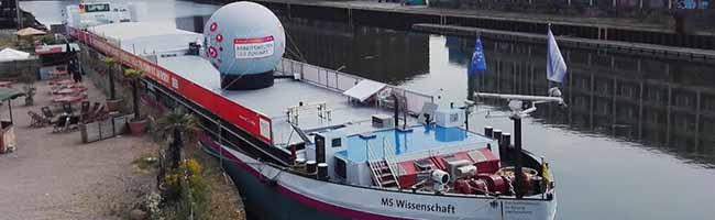 Volle Kraft voraus Kurs setzen auf Zukunft! – Die MS Wissenschaft legt auch wieder im Stadthafen Dortmund an