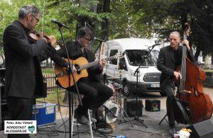 Das Instrumentaltrio Kapelsky bot eine große Bandbreite an Stilrichtungen.