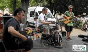 Das TrioOriental Con Fusion spielte bekannte Lieder aus der orientalischen Musik in neuem Gewand.