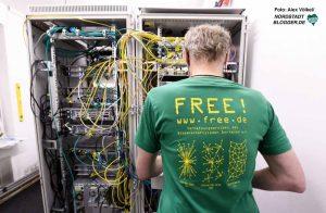 Der Wissenschaftsladen hat sich mit seinem Projekt free.de auf Internetdienstleistungen spezialisiert.