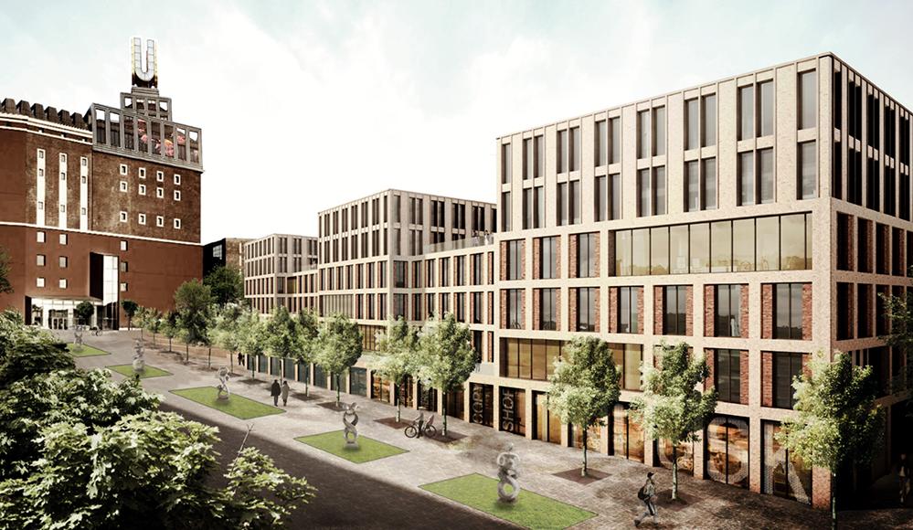 Bis zu 500 Micro-Apartments für Studierende sollen unweit des Dortmunder U entstehen.