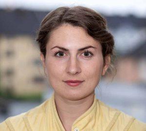 Preisträgerin Silke Schönfeld. Foto: Tommy Scheer