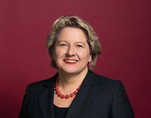 Schirmherrin Svenja Schulze ist Bundesministerin für Umwelt, Naturschutz und nukleare Sicherheit.