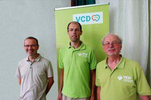 v.l.n.r.:Lorenz Remicker, Paul Nieman und Michael Hüttemann vom VCD haben sich über mehrere Jahre mit der Materie beschäftigt.