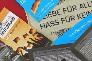 """Materialien für die Kampagne """"Wir sind alle Deutschland"""""""