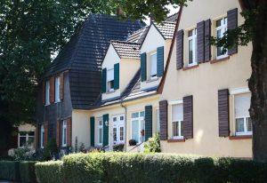 Die Zechensiedlung Oberdorstfeld. Foto: Karsten Wickern