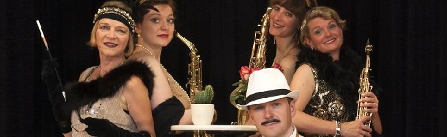 """""""Schöne Welt, du gingst in Fransen"""":  Mit """"Mademoiselle Julie & dem """"Wunderhorn Quartet"""" durch die Goldenen Zwanziger"""