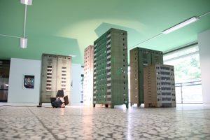 EVOL - Stahlschränke zu Hochhäusern