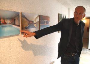 Richard Schmalöer im ehemaligen Elternhaus